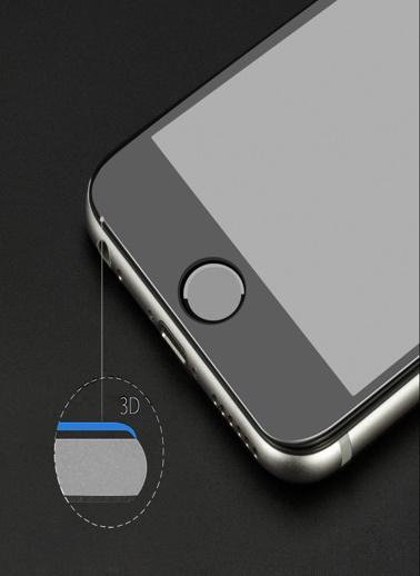 Microsonic iPhone 8 Plus Kavisler Dahil Tam Ekran Kaplayıcı  Koruyucu Film Renksiz